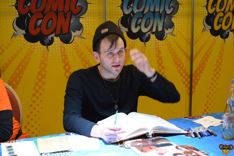 German Comic Con Frankfurt 2017 - Harry Melling