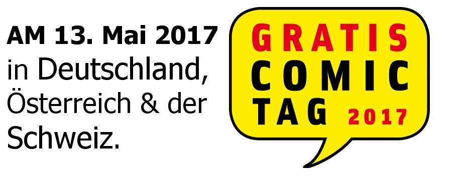 Der GRATIS COMIC TAG 2017