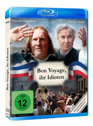 Bon Voyage Ihr Idioten - BD-Cover
