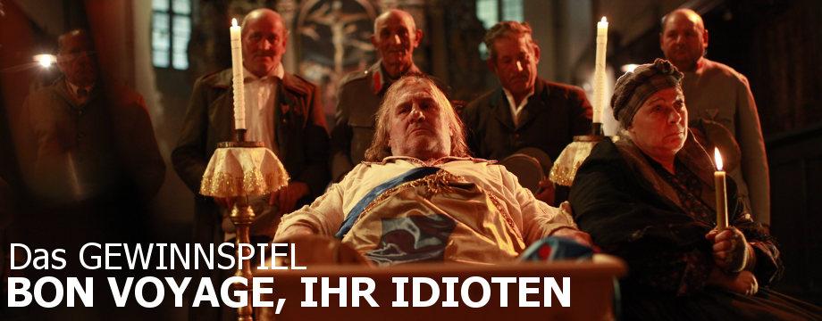 Bon Voyage ihr Idioten - Gewinnspiel