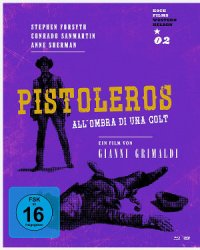 Pistoleros - BD-Cover