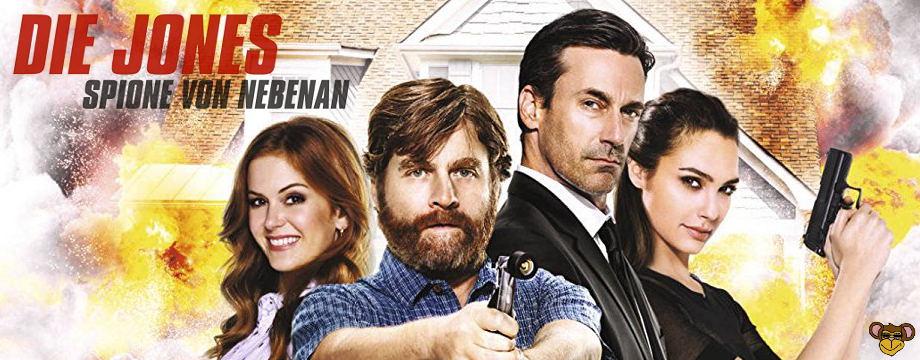 Die jones - Spione von nebenan - filmkritik   Krimikomödie mit Starbesetzung