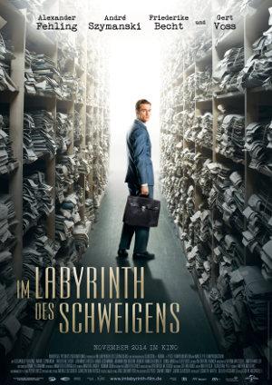 Im Labyrinth des Schweigens - Poster   Ein Justizdrama