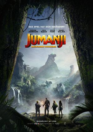 Jumanji - Willkommen im Dschungel - Poster