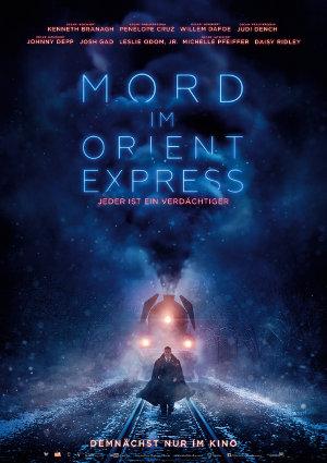Mord im Orient Express - 2017 - Poster   Neuverfilmung nach dme Roman von Agatha Christie