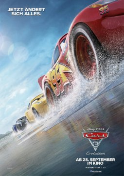 Cars 3 - Poster