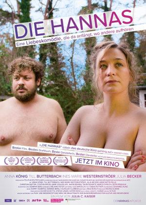 Die Hannas - Poster   Eine deutsche Komödie über eine Paar mit einer holprigen Beziehung