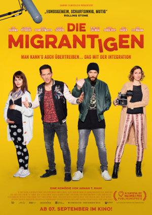 Die Migrantigen - Poster | Eine Komödie über anständige Jungs, die auf Ghettokids machen