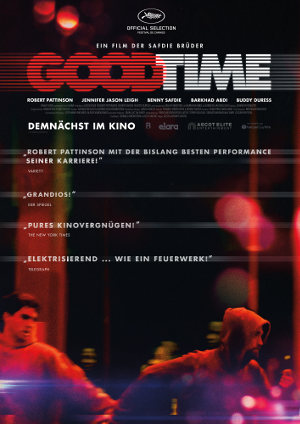 Good Time - Poster | Ein Thriller mit Robert Pattionson