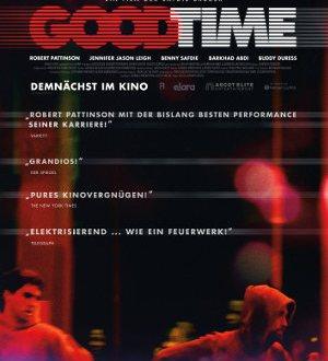 Good Time - Poster | Ein Thriller mit Robert Pattionson
