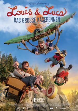 Louis und Luca Das grosse Kaeserennen - Poster | Stop-Motion Film aus Norwegen