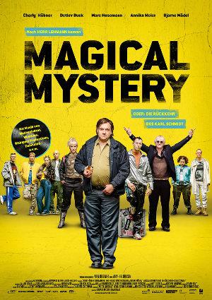 Magical Mystery - Poster   Eine Komödie nach einem Roman