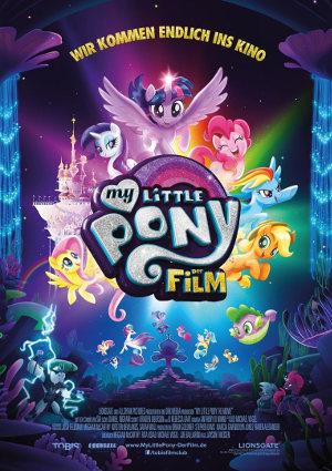 My little Pony - Der Film - Poster | Animationsfilm um Spielzeugfiguren