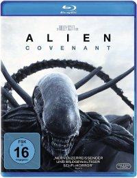Alien Covenant - Blu-Ray-Cover