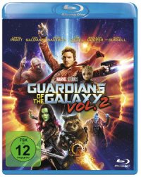 Guardians of the Galaxy 2 -Blu-Ray-Cover