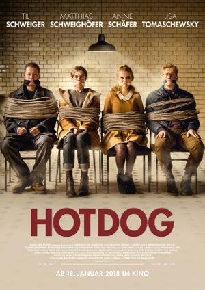 Hot Dog - Poster   deutsche Actionkomödie