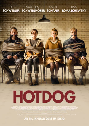Hot Dog - Poster | deutsche Actionkomödie