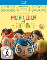 Mein Leben als Zucchini - Blu-Ray-Cover | Oscar-nominierter Stop Motion Film