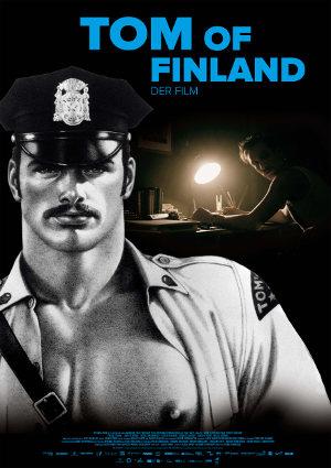Tom of Finnland - Poster | Drama-Biopic über schwulen Mann