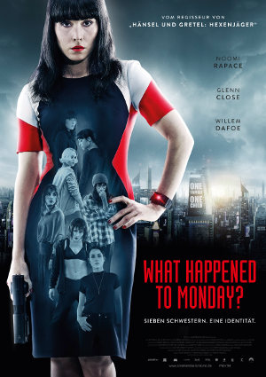 What Happened To Monday - Poster