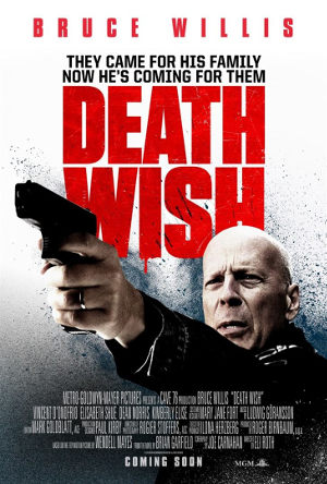 Death Wish - US-Poster | Actionfilm mit Bruce Willis