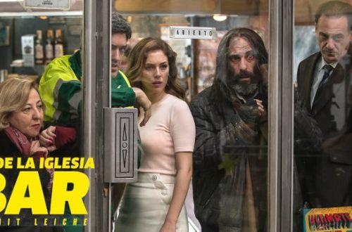 El Bar - Blu-Ray-Cover | Schwarze Komödie aus Spanien