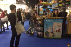 Frankfurter Buchmesse 2017 - Ralph Ruthe und Filmaffe Jörg
