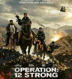 Operation 12 Strong - Poster | Kriegsdrama