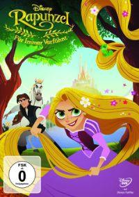 Rapunzel – Für Immer Verföhnt - DVD-Cover   Neue Serie auf Disney Channel