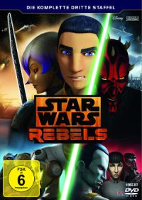 Star Wars Rebel - Staffel 3 - DVD-Cover