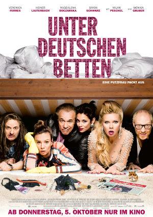 Unter deutschen Betten - Poster | deutsche Komödie mit Veronica Ferres