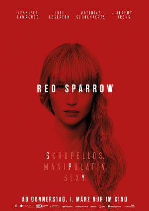 Red Sparrow - Poster| Thriller