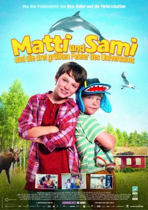 Matti und Sami und die drei groessten Fehler des Universums - Poster | Familienkomödie