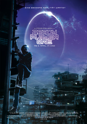 Ready Player One - Poster | Science Fiction von Steven Spielberg