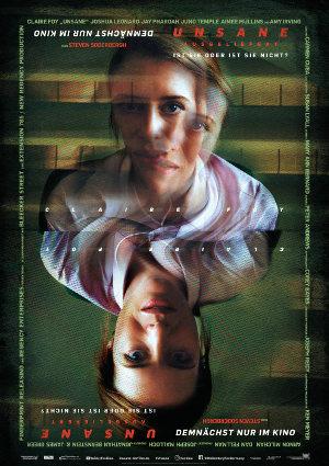 Unsane - augeliefert - Poster | Thriller von Steven Sonderbergh