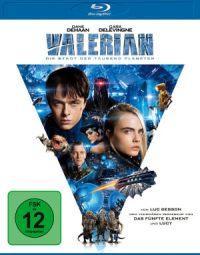 Valerian - Die Stadt der tausend Planeten - Blu-Ray-Cover | Filmkritik des Science Fiction Films von Luc Besson