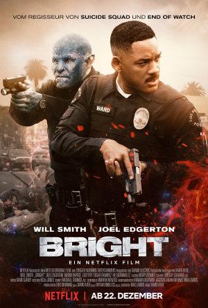Bright Netflix - Poster | Fantasy-Actionfilm mit Will Smith