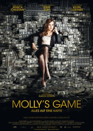 Mollys Game - Poster | Drama