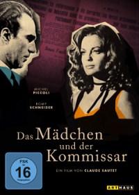 Das Maedchen und der Kommissar - DVD-Cover   Film Noir