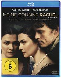 My Cousin Rachel - Blu-Ray Cover | Drama/ Thriller