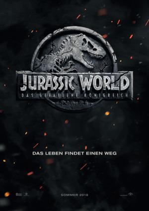 Jurassic World 2 - Poster | Abenteuerfilm