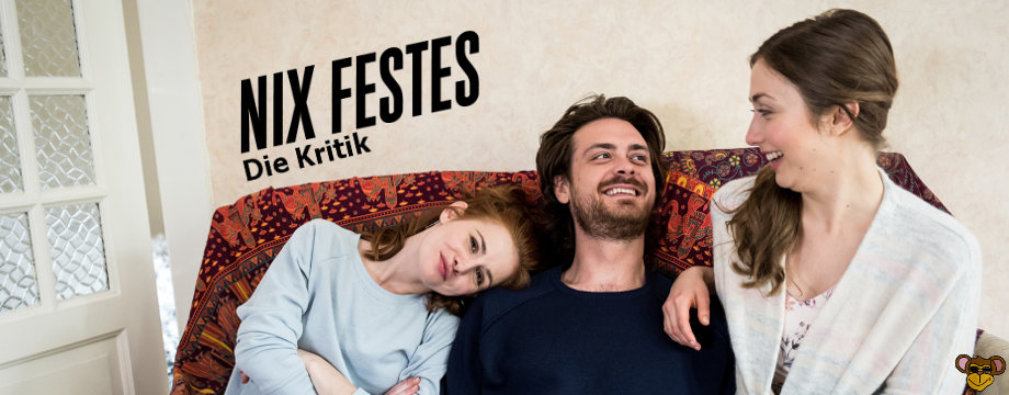 Nix Festes - Sitcom ZDF Neo   Der Cast auf der Couch