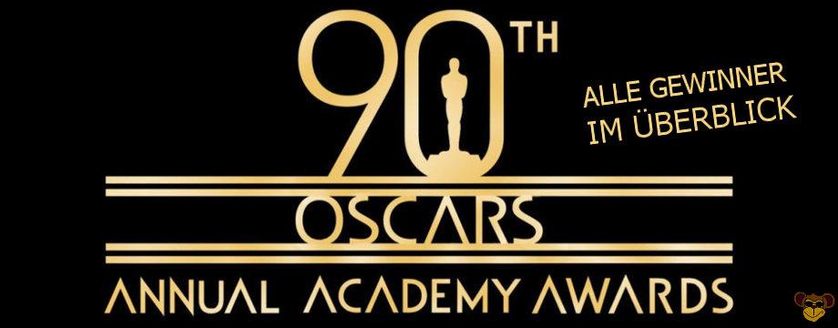 Oscars 2018 - Alles Gewinner | All Nominies & Award Winners