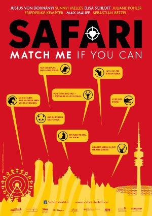 Safari - Match me if you can - Poster   Komödie