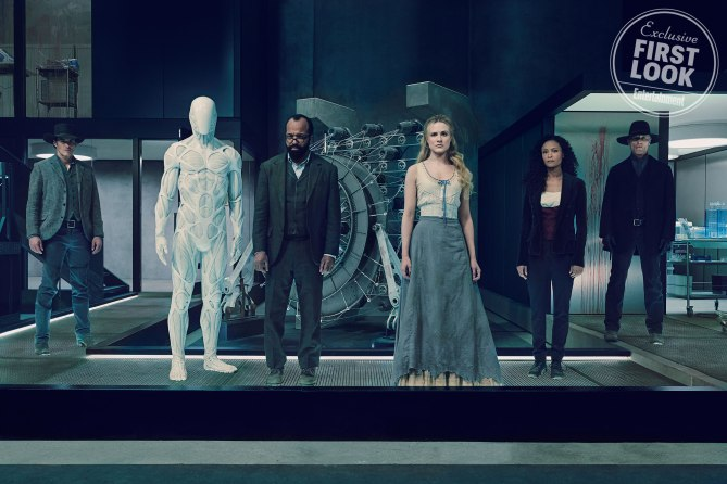 Cast of HBO show Westworld