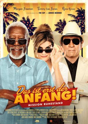 Das ist erst der Anfang - Poster   Komödie mit Morgan Freeman