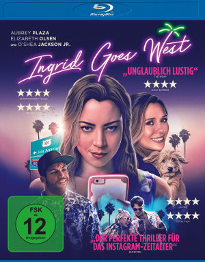 Ingrid Goes West - Blu-Ray-Cover | tragikomödie