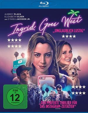 Ingrid Goes West - Blu-Ray-Cover   tragikomödie