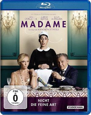 Madame nicht die feine Art - Blu-Ray-Cover | Komödie