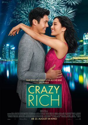 Crazy Rich Asians - Poster | Romance Comedy